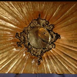 SOLE, LEGNO E BRONZO, 2008, cm 160 x 80