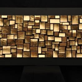 MOSAICO, LEGNO, 2013, cm 70 x 140