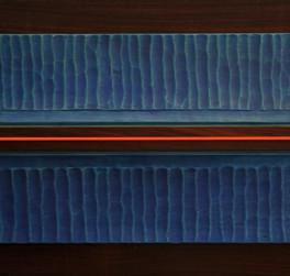 MIAMI, LEGNO E POLICARBONATO, 2012, cm 60 x 140